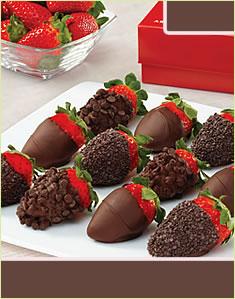 Chocolate Indulgence Strawberries Boxشوكولات اندلوغانس ستروبيريز بوكس