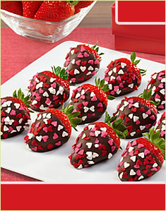 Lovely Berries™ - Semi Sweet Chocolate Box
