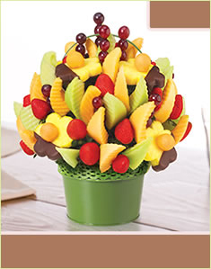 Dipped Daisies Fruit Designفروت ديزاين مع  الأزهار المغمورة