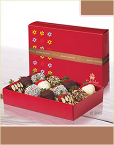 Dipped Strawberries All Mixedالفراولة المغموره - تشكيلة متنوّعة