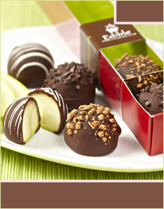 Fruit Truffles 6 Piece Box