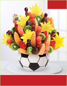 Watermelon Kiwi Soccer Bouquetوترميلون كيوي كرة قدم بوكيه